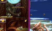 Greninja junto a Shotzo en Smashventura SSB4 (3DS).jpg