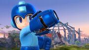 Mega Man en el Campo de batalla SSB4 (Wii U).jpg