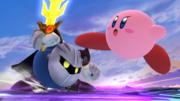 Kirby atacando a Meta Knight SSB4 (Wii U).png