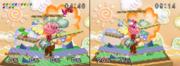 Isla de Yoshi comparaciones SSB.png