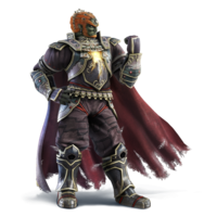 Art oficial de Ganondorf en Super Smash Bros. for Nintendo 3DS / Wii U