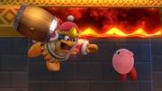 Kirby y Rey Dedede en El gran ataque de las cavernas SSB4 (Wii U).jpg