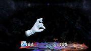 Combate contra Crazy Hand en Retos Crazy Hand SSB4 (Wii U).jpg