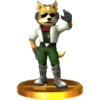 Trofeo de James McCloud SSB4 (3DS).png
