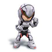 Artwork de la Karateka Mii con el casco y la armadura bionica.jpg