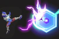 Vista previa de Reflector en la sección de Técnicas de Super Smash Bros. Ultimate