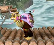 Lanzamiento hacia abajo de Donkey Kong (3) SSBM.png