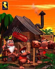 Artwork de la casa de Cranky Kong en Donkey Kong Country.jpg