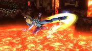 Ataque aéreo hacia delante de Samus Zero (1) SSB4 (Wii U).png