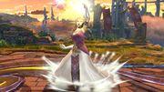 Ataque Smash Hacia Arriba Zelda SSB4 Wii U.jpg