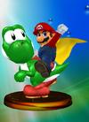 Trofeo de Mario y Yoshi SSBM.png