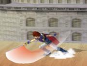 Ataque Smash hacia abajo de Roy (1) SSBM.png