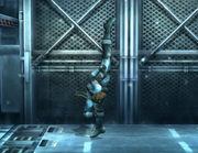 Ataque fuerte superior-Snake SSBB.png