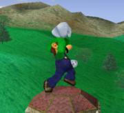 Ataque fuerte hacia arriba de Luigi SSBM.png