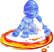 Artwork de Mario Oscuro en Super Mario Sunshine.png