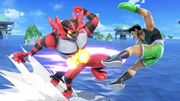 Incineroar y Little Mac en Big Blue SSBU.jpg