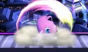 Ataque Smash hacia arriba (2) Jigglypuff SSB4 (3DS).jpg