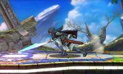 Ataque Smash hacia abajo (1) Lucina SSB4 (3DS).jpg
