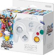 Caja mando de Nintendo GameCube blanco especial Super Smash Bros. 4.jpg