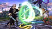 Ataque normal repetible de Robin SSB4 (Wii U).jpg