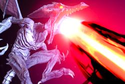 Vista previa de Grito de plasma en la sección de Técnicas de Super Smash Bros. Ultimate