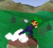 Ataque Smash hacia arriba de Luigi SSBM.png