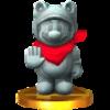 Trofeo de Mario estatua SSB4 (3DS).png