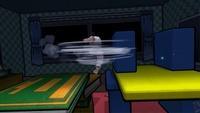 Ryu usando Tatsumaki Senpukyaku en Super Smash Bros. Ultimate