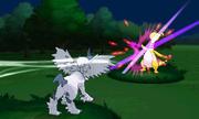 Mega-Absol usando Tajo umbrío en Pokémon X e Y.png