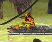 Ataque Smash hacia abajo de Samus (2) SSBM.png