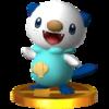 Trofeo de Oshawott SSB4 (3DS).png