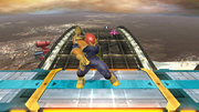 Pose de espera de Captain Falcon (1-1) SSB4 (Wii U).png