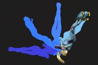 Vista previa de Salto mortal en la sección de Técnicas de Super Smash Bros. Ultimate