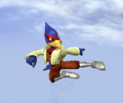 Ataque aéreo normal de Falco SSBM.png