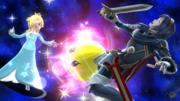 Estela atacando a Lucina en Mario Galaxy SSB4 (Wii U).png