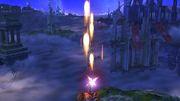 Ataque aéreo hacia arriba Tirador Mii SSB4 Wii U.jpg