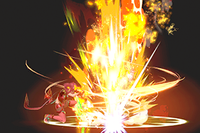Vista previa de Revolución Prominente en la sección de Técnicas de Super Smash Bros. Ultimate.