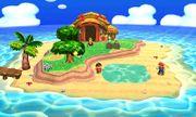 Mario y el Aldeano en la Isla Tortimer SSB4 (3DS).jpg