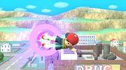 Ataque aéreo hacia atrás Ness SSB4 (Wii U).JPG