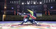 Greninja en el Cuadrilátero SSB4 (Wii U).png