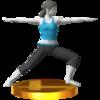 Trofeo de El guerrero SSB4 (3DS).png