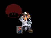 Pose de victoria Dr. Mario X (4) SSBM.png