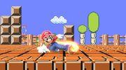 Ataque fuerte hacia abajo de Mario SSBU.jpg