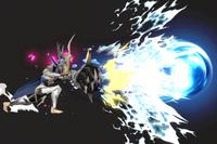 Vista previa de Tiro colmillo dragón en la sección de Técnicas de Super Smash Bros. Ultimate