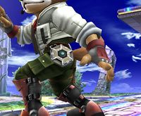 El reflector de Fox en Super Smash Bros. Brawl