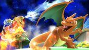 Mario usando ACUAC contran Charizard SSB4 (Wii U).jpg