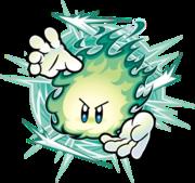 Ilustración de Plasma Wisp en Kirby Super Star Ultra.png