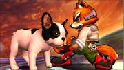 Créditos Modo Senda del guerrero Fox SSB4 (3DS).png
