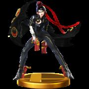 Trofeo de Bayonetta (original) SSB4 (Wii U).png