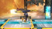 Ataque de recuperación boca arriba de Captain Falcon SSB4 (Wii U).png